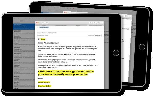 4) Impactful prospect emails