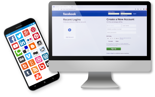 6) Easy social media content