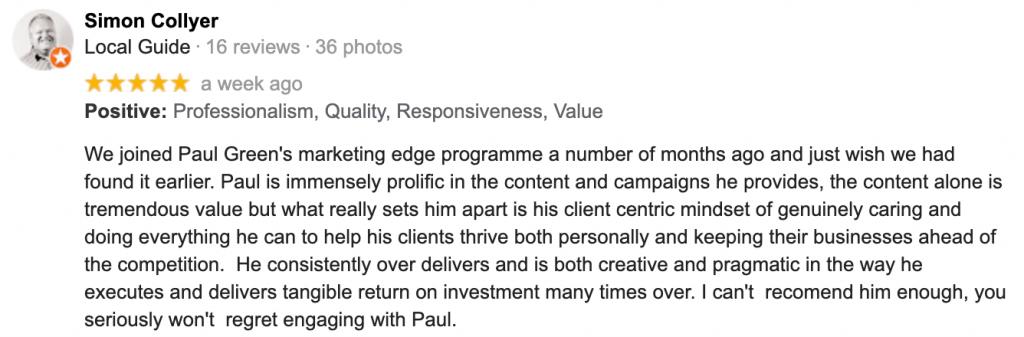 Simon Collyer review